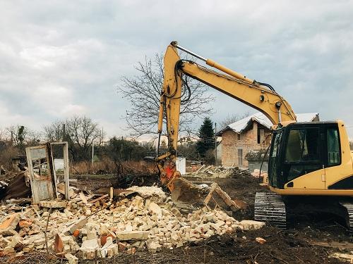 Travaux de démolition avec Muzard Démolition